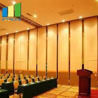 Buy cheap Malaysia Aluminum MDF Wood Soundproof Movable Partition Walls For Restaurant product