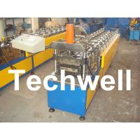 Buy cheap 10 Station Metal U Runner Roll Forming Machine For Light Steel Stud / Track product