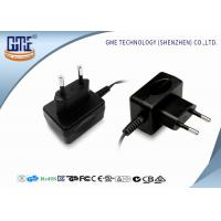 Buy cheap GME Plastic 12V 500mA switching wall plug power supply CE ROHS  CB GS product