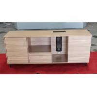 Buy cheap L shape office desk use Side table wooden cabinet chipboard material MFC color from wholesalers