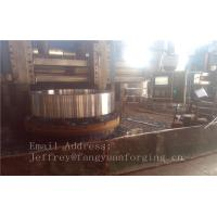 Buy cheap 4140 42CrMo4 Rolled Forged Steel Rings Q+T High Hardness For Concrete Mixer Truck product
