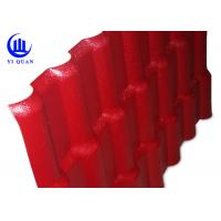 Buy cheap Plastic Prefab Houses Synthetic Resin Roof Tile ASA  Anti - Aging Width 1050MM product