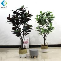 Buy cheap 1.6m Height Artificial Bonsai Tree , Faux Rubber Tree Plant For Indoor R020010 product