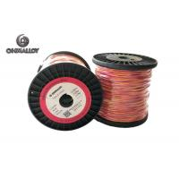 Buy cheap Fiberglass Insulation Thermocouple Cable Type K 100 M Extension Class I product