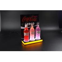 Buy cheap new style acrylic led wine bottle display racks product