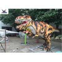 Buy cheap Giant Lifelike Animatronic Outdoor Dinosaur Statues Foreleg Movement / Simulation Roar from wholesalers