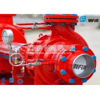 Buy cheap NFPA20 UL Listed 200gpm Fire Pump Set With Electric Motor Driven Single Stage Fire Water Pump 105~130PSI product