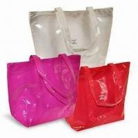 Buy cheap Plastic Tote Bags, Customized Designs and Logos are Accepted product
