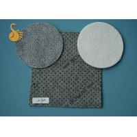 Buy cheap Cushion Backing Washable Nonwoven Needle Punched Felt With Standard PVC Dots product