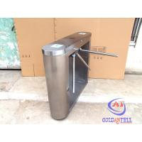 Buy cheap Intelligent Security Tripod Turnstile Gate 220V / 110V Working Power product