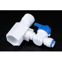 Buy cheap Quick Connect Tee RO Water Treatment System Two Way Sliptter And Inlet Valve from wholesalers