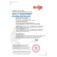 Shenzhen Ruiyu Technology Co., Ltd Certifications