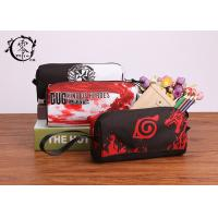 Buy cheap Cartoon Naruto Pencil Case Pouch Handy Wearable Canvas Pencil Wrap Case With Individual Handle product