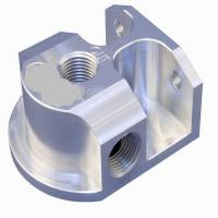 Buy cheap OEM High Precision CNC Machining Billet Aluminum Remote Oil Filter Mount product