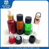 Buy cheap Glass 15ml Refillable Essential Oil Dropper Bottles Customized Logo product