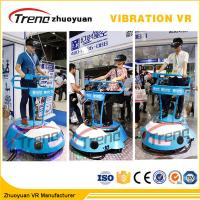 China Amusement Park Cars Driving 9D Cinema Simulator With Interactive Vive Equipment on sale