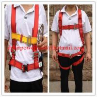 Buy cheap Fall prevention safety belt& safety belts,Simple Three Point Safety Belt product