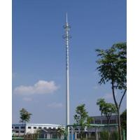 Buy cheap 15M Mono Pole Tower Tv Antenna Towers Ham Radio Towers 30 - 100 m Height product
