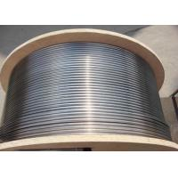 Buy cheap Seamless Alloy Steel Hydraulic Control Line Downhole Tube Application 1/4'' 3/8'' Size from wholesalers