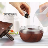 Buy cheap WIFI 400ml Vase Shape Security Fog Machine Smart Ultrasonic Wood Essentia Oil from wholesalers
