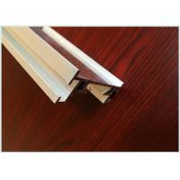 Buy cheap 6063 T3 / T8 Black Aluminum Extrusion Profiles , Aluminium Industrial Profile product