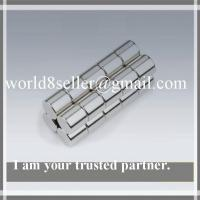 China rare earth sintered ndfeb magnetic rods on sale