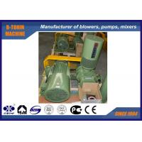 Buy cheap Low noise army green three Lobe Roots Blower , ozonizer , oxygen generator for aquaculture air blower product