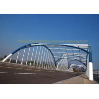 China Q235 Q345 Frame Multi Trusses Prefab Steel Frame Bridge With Drawing on sale