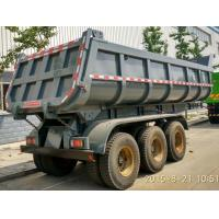 Buy cheap Multi Sized Load Trail Dump Utility Trailer For Base Rock Topsoil Asphalt , Truck Dump Trailers product