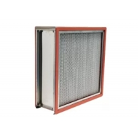 Buy cheap High Temperature 304SS HEPA Air Filter For Food / Medical Factory product