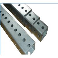 Buy cheap Heavy Duty Metal Fence Accessories Square Traffic Sign Posts ISO9001 CE product