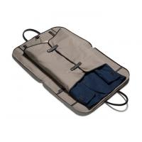 Buy cheap PU Leather Canvas Hanging Zipper Mens Travel Suit Garment Bags product