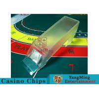 Buy cheap Poker Game Necessary Casino Card Shoe Using Thick High - Density Plexiglass product