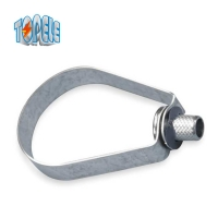 Buy cheap Steel Zinc Plated UL Pipe Hangers And Clamps BS4568 Conduit from wholesalers