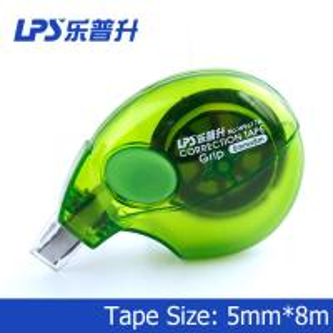 Buy cheap Mini bande de correction colorée 8m pour la bande de correction de vert d'étudiant AUCUN W9617 product