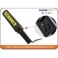 Buy cheap High Sensitivity Portable Hand Held Metal Detector With Recharger And Adapter product