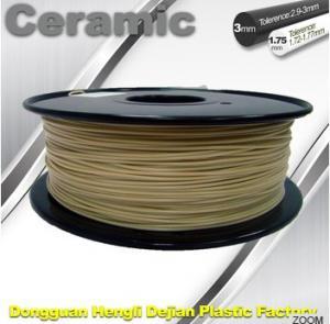 Buy cheap Surface Light / Ceramic Texture 3D printer filament 1.75mm 1kg / Spool product