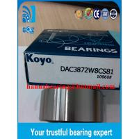 Buy cheap DAC42760035 Wheel Ball Automotive Bearing / Automotive Ball Bearings 42x76x35mm product