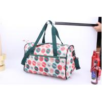 Buy cheap OEM High Quality Beautiful flower printing cheap luggage for travel or sports product