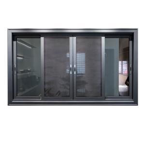 Buy cheap Interior Double Glazed 6063 Aluminium Sliding Windows With Two Track product
