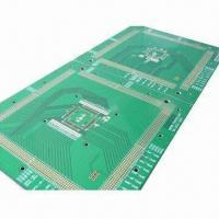 China 4-layer PCB with Flash Gold Surface Treatment and 1.6mm Board Thickness, Made of FR-4 Metal Base on sale