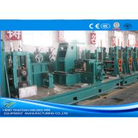 Buy cheap High Precision Seamless Pipe Mill , Friction Saw Cutting Pipe Tube Mill Custom product