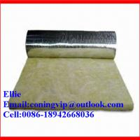 Buy cheap 24kg/m3 glass wool insulation roll with Aluminum foil on one side product