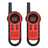 China Plastic Game Playing 2 Way Handheld Walkie Talkie Rechargeable with Flashlight on sale