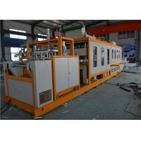 Buy cheap Foam Clamshell Plastic Container Production Line , Automatic PS Fast Food Container Machinery product