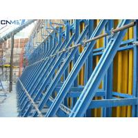 Buy cheap Steel Material Concrete Wall Formwork Systems Flexible Height Adjustment product