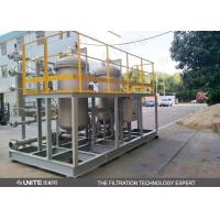 Buy cheap Automatic Back Flushing Filter for high precision gas solid,solid liquid from wholesalers