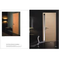 Buy cheap HS-12 Modern Vertical Side Hinged Door, Wood Hinged Patio Door With Metal Interlayer Glass Factory product