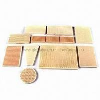 China Infrared Ceramic Plate with 50.4% Water Absorption, Ideal for Gyro Cookers on sale