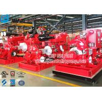 Buy cheap Horizontal Single Stage Double Suction Diesel Engine Fire Pump Set With UL Listed NFPA 20 Standard product